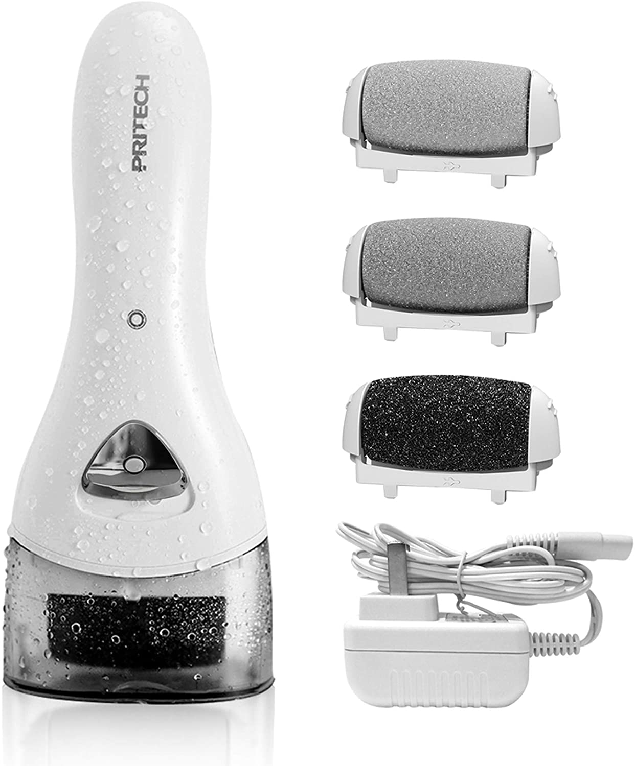 Electric Feet Callus Electronic Foot File Pedicure Tools by PRITECH