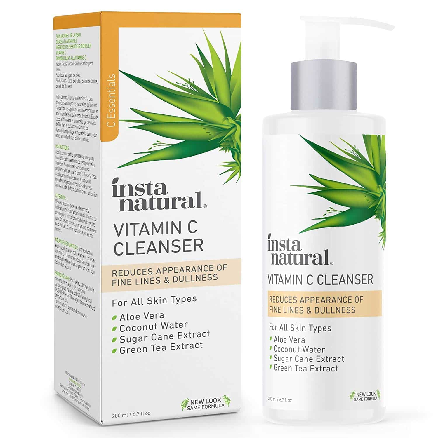 Facial Cleanser by InstaNatural