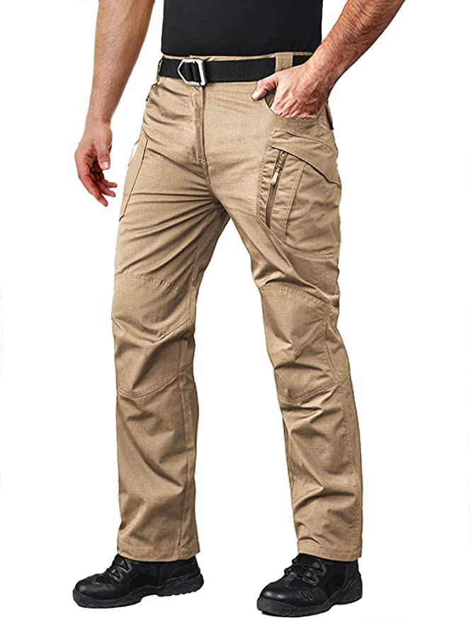 MAGCOMSEN Men's Tactical Pants with 9 Pockets