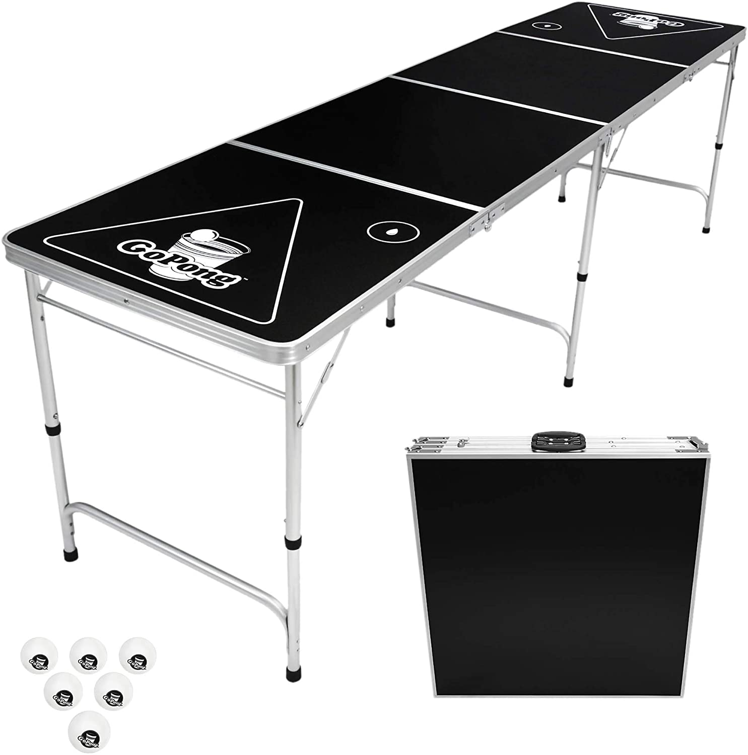 GoPong Pong Table Beer 8-Foot Portable