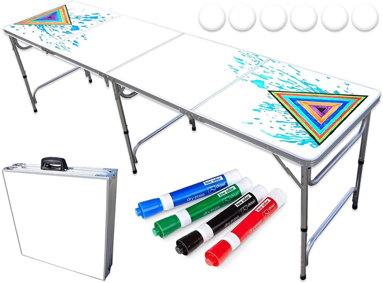 PartyPongTables.com 8-Foot Beer Pong Table