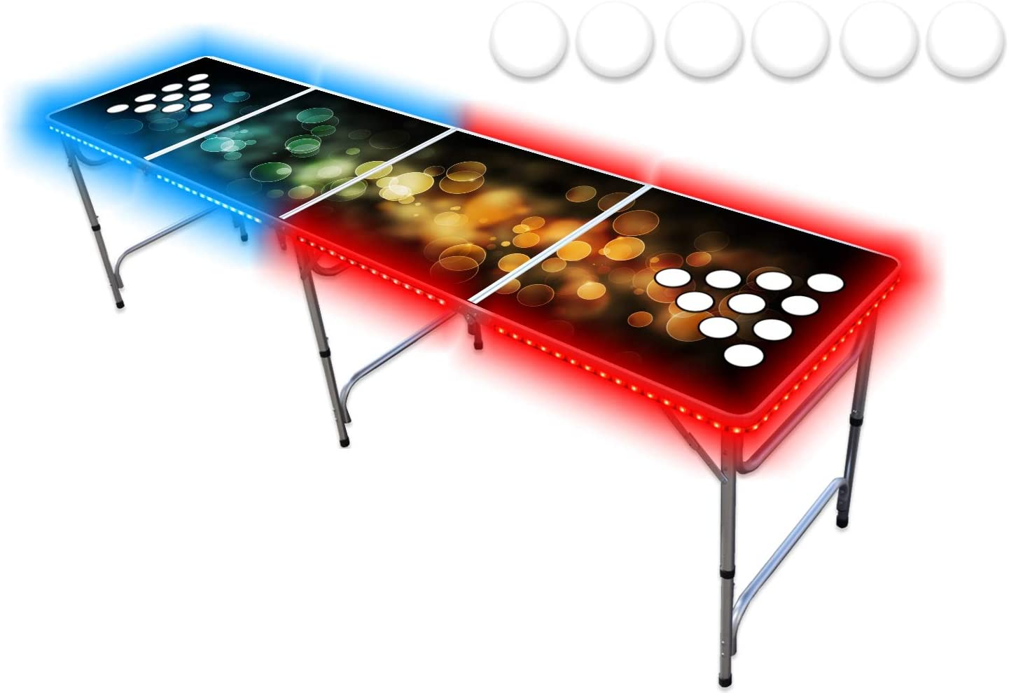 PartyPongTables.com 8-Foot Professional Beer Pong Table
