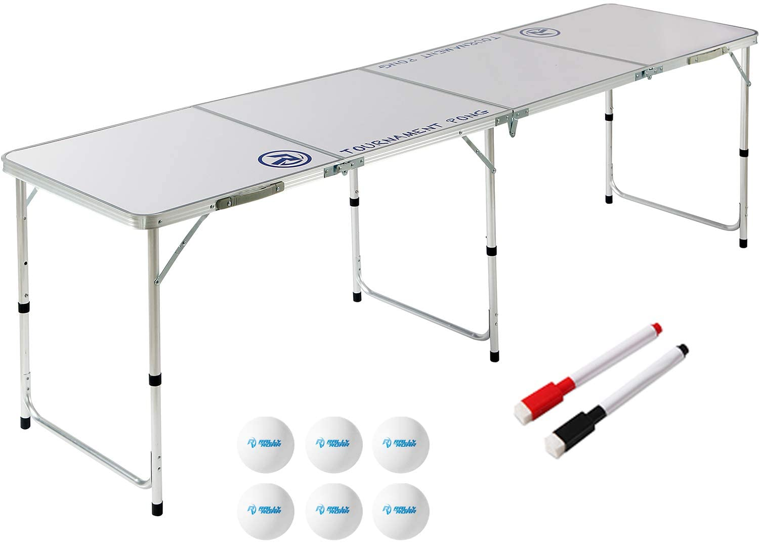 Rally and Roar 8ft Beer Pong Table