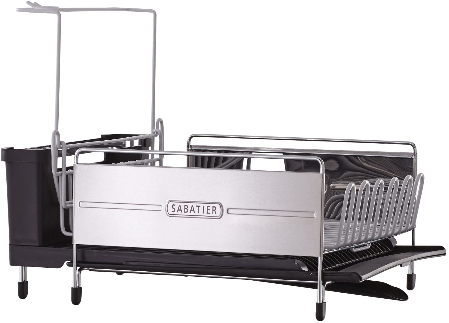 Sabatier Expandable Stainless Steel Dish Rack