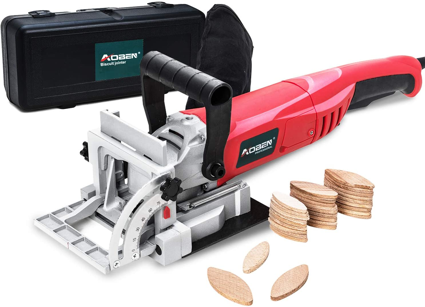 AOBEN 8.5 Amp Biscuit Cutter Plate Joiner With Tipped Blade