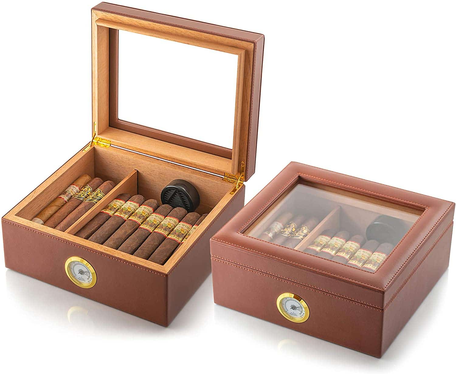 Amerigo Luxury Handcrafted Cigar Humidor