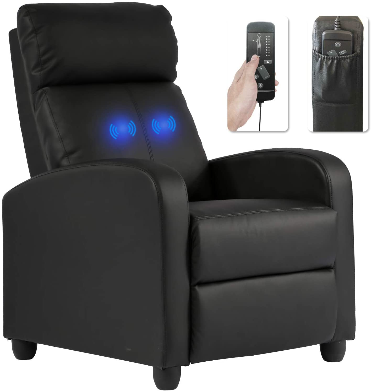 BestMassage Recliner Chair for Living Room Massage