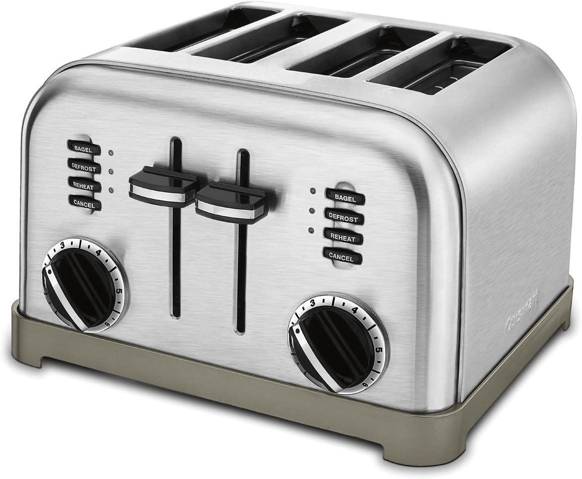 Cuisinart CPT-180P1 Metal toaster, Brushed Stainless