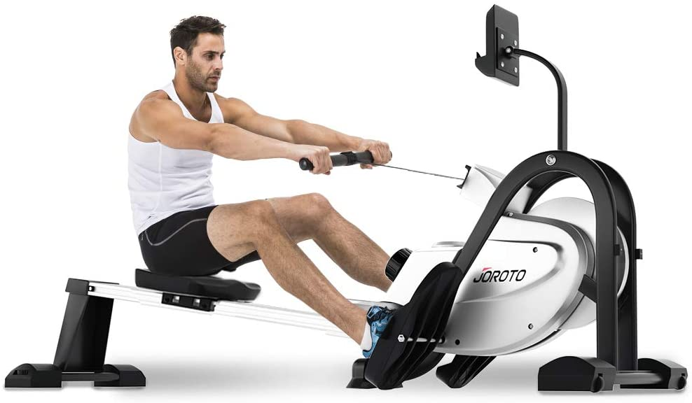 JOROTO Magnetic Rowing Machine with LCD Display