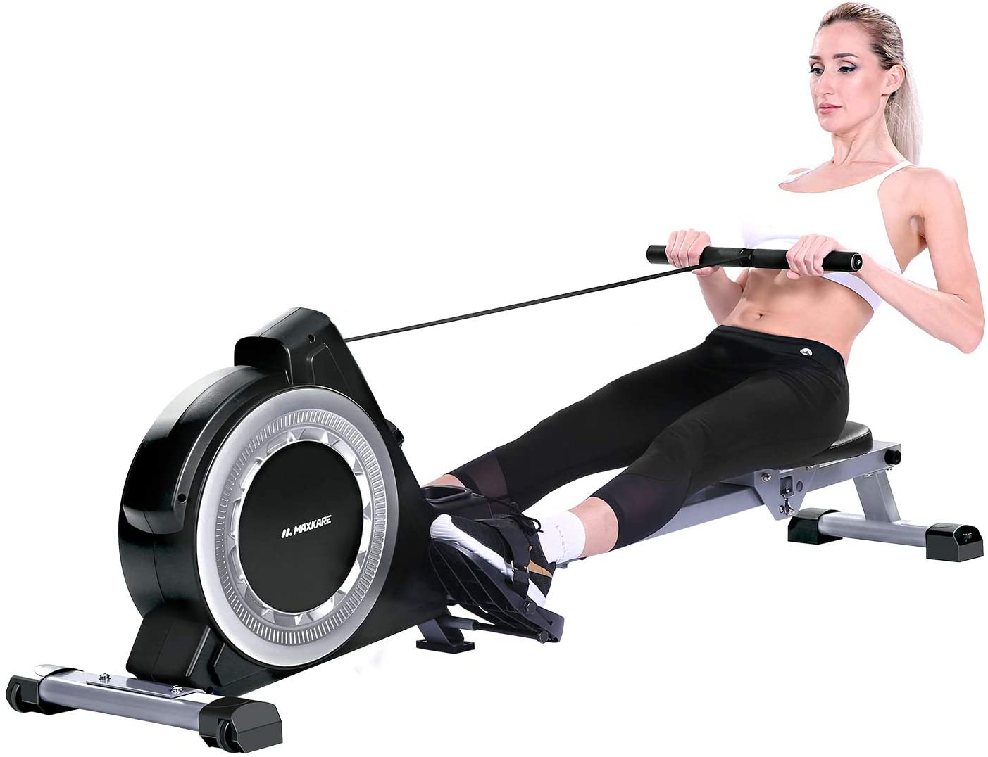 MaxKare Magnetic Rowing Machine Exercise Rower