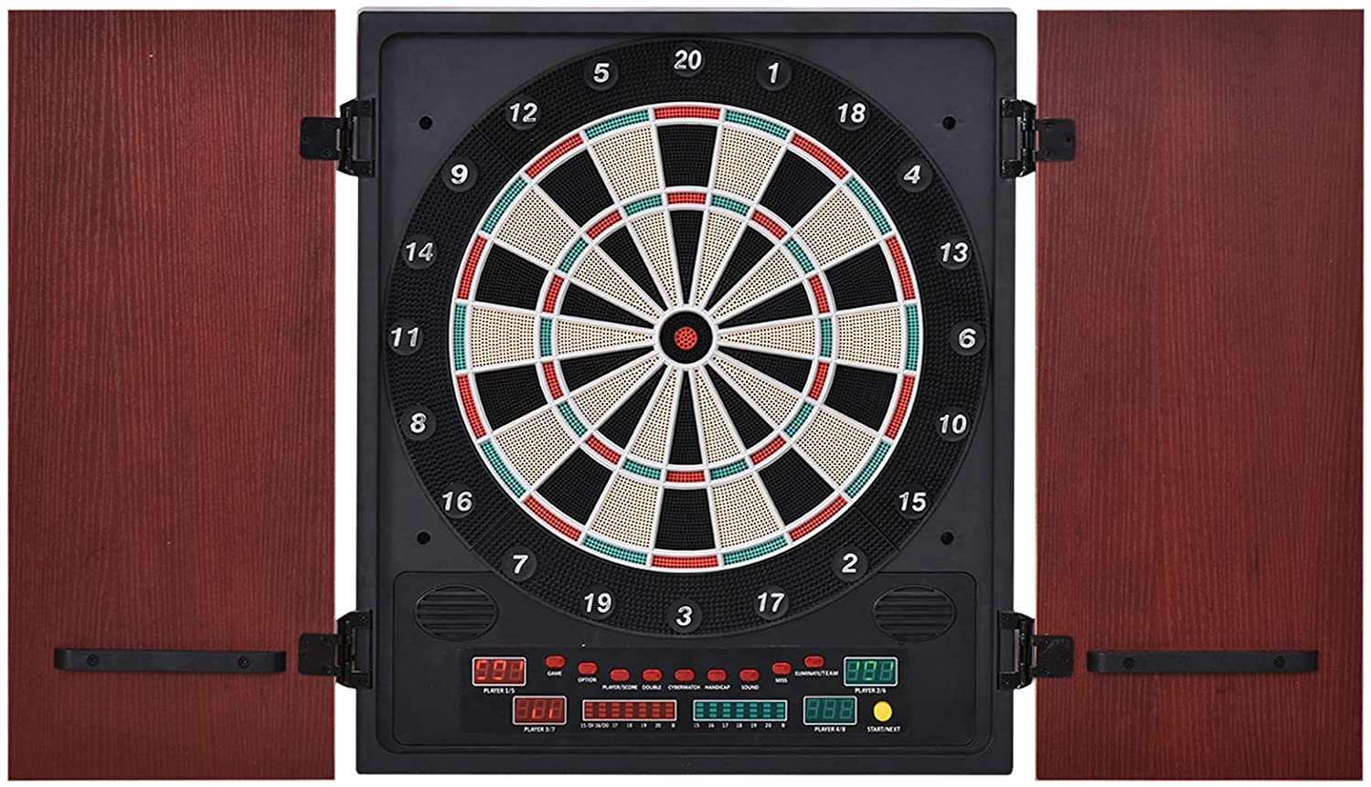 Soozier Electronic Dartboard Set 27 Games with 12 Darts
