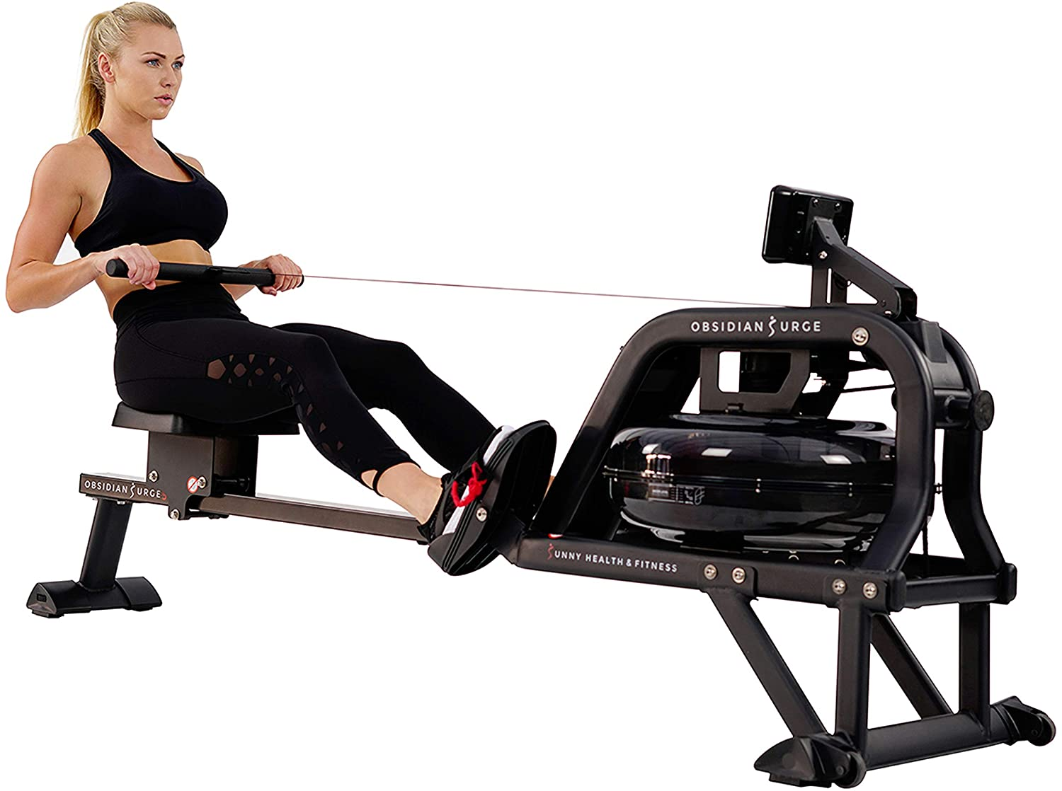 Sunny Health & Fitness 500 Water Rowing Machine