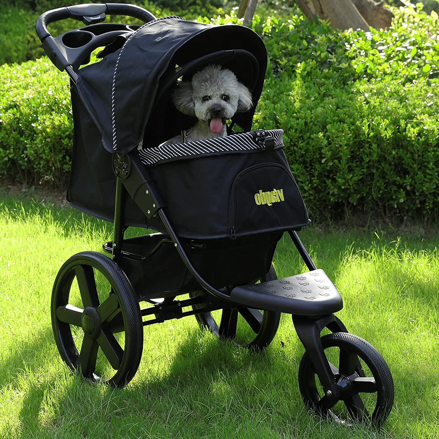 VIAGDO Luxury Dog Stroller Jogger for Dogs & Cats