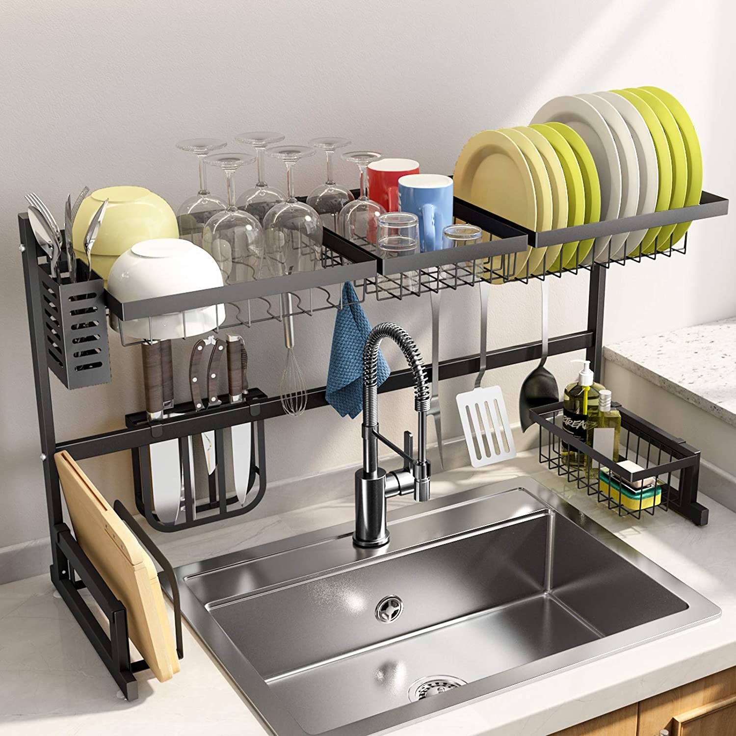 SNTD Over The Sink Dish Rack