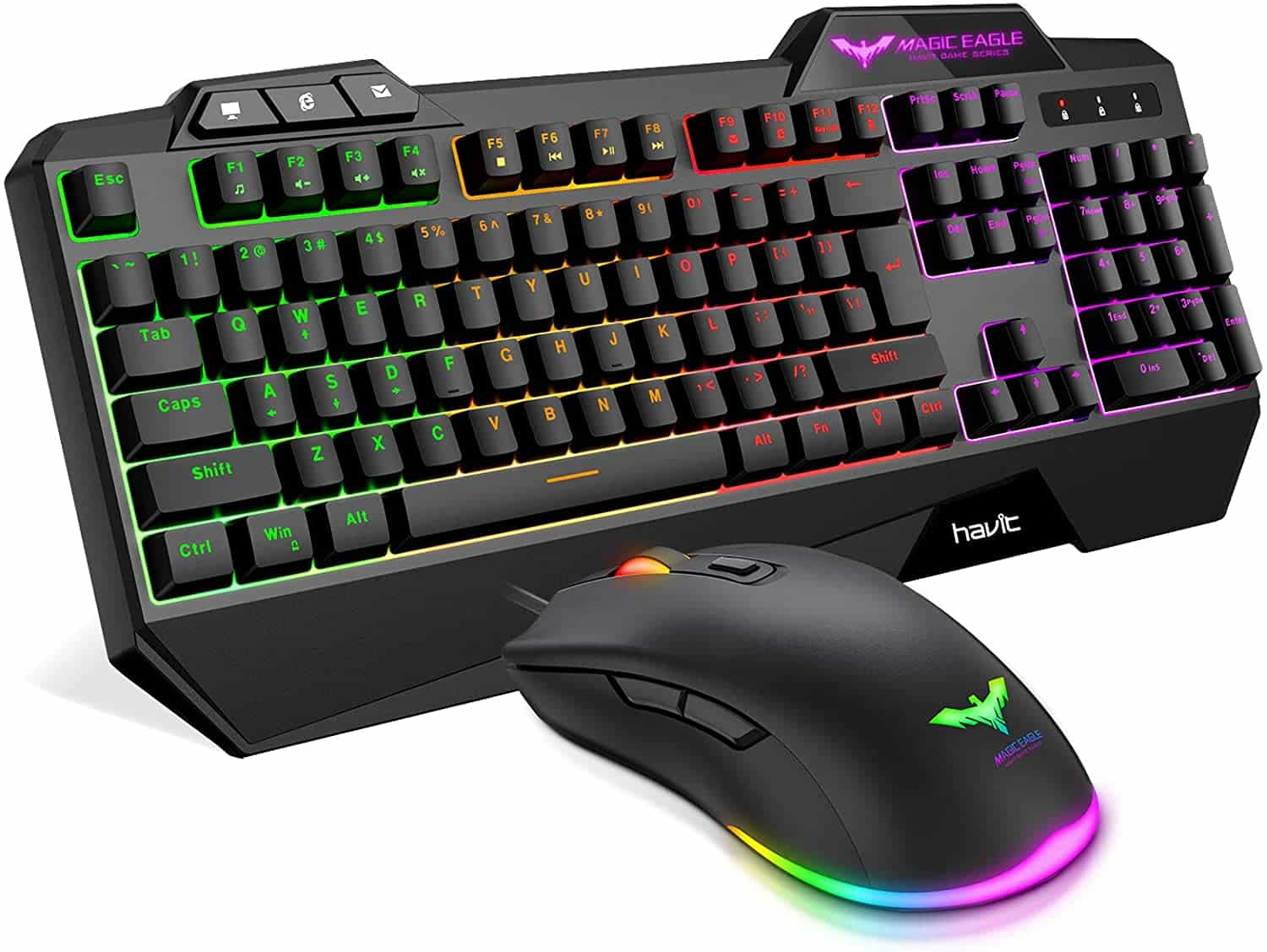 Havit Wired Gaming Keyboard Mouse Combo