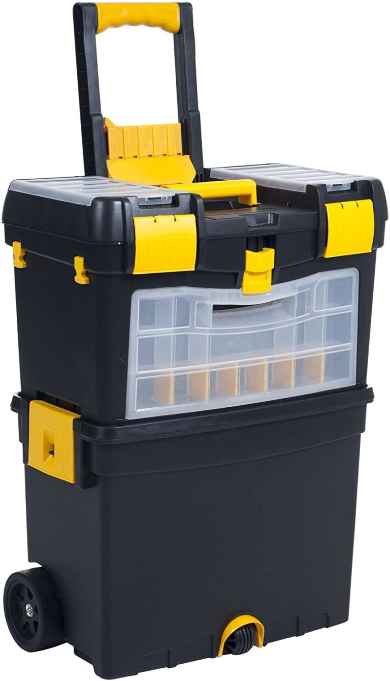Rolling Tool Box with Wheels by Stalwart