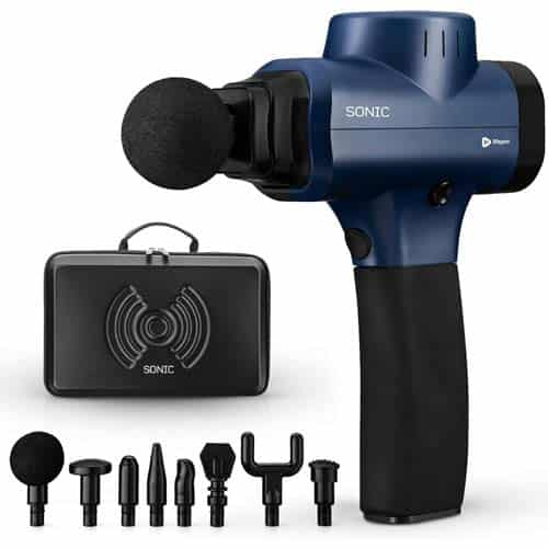 Sonic Handheld Percussion Massage Gun - Massager for Sore Muscle and Stiffness